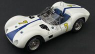 Модель автомобиля Maserati Tipo 61 Birdcage Winner GP Cuba/Havanna 1960 Moss Limited Edition 1500 pcs.
